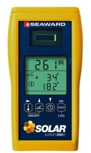 Solar Irradiance Meter