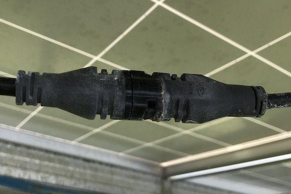 Find bad solar module MC4 connectors